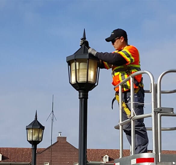 Joint Base Lewis-McChord Exterior Lighting Project