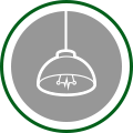 Industrial Lighting Icon